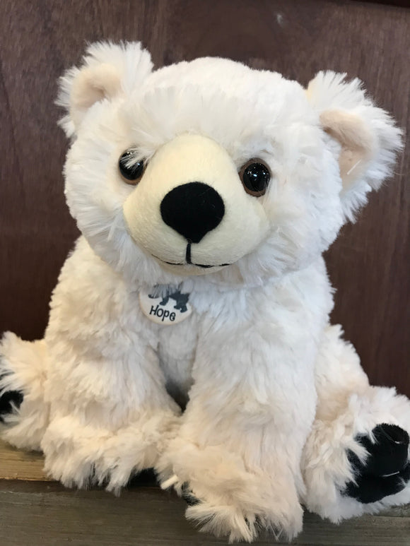 Plush Hope Polar Bear