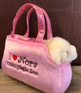 I Love Nora purse