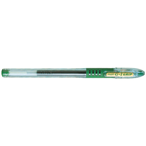 Pilot Roller ball gel grip 0.7 Green