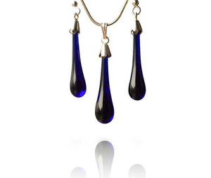 Blue Glass Jewellery