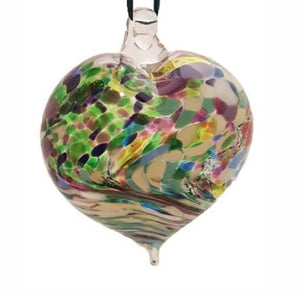 Multicoloured Glass Baubles