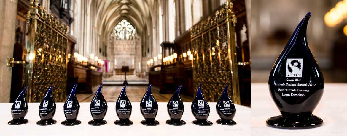 Engraved awards supplied by Original Bristol Blue Glass