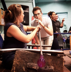 4 hour glassmaking experience at Bristol Blue Glass