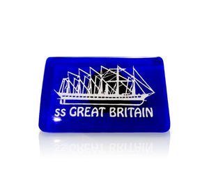 SS Great Britain Blue Glass Magnet