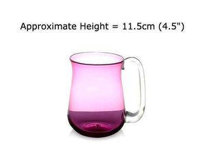 Buy Ruby Red Glass Beer Mugs at BlueGlassWorks