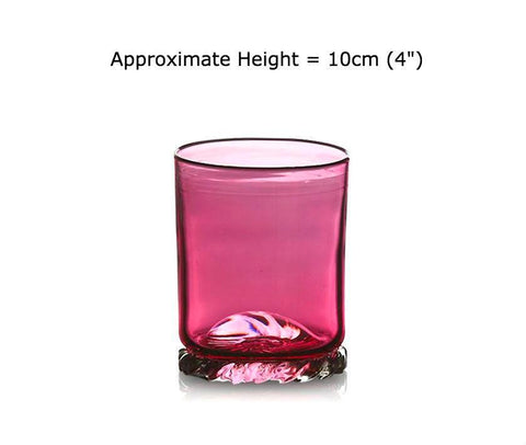 Buy Ruby Red Glass Tumblers at BlueGlassWorks