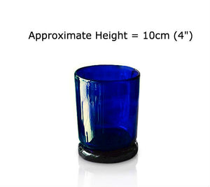Blue Glass Tumbler