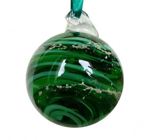 Cremation Memorial 'Meminisse' Orb - Emerald Green
