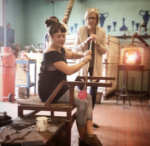 Glassmaking experience at Bristol Blue Glass - 2 hour course voucher