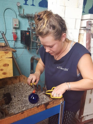 Glassmaking experience at Bristol Blue Glass - Bliss Hill