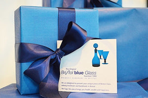 Online gift voucher for Original Bristol Blue Glass