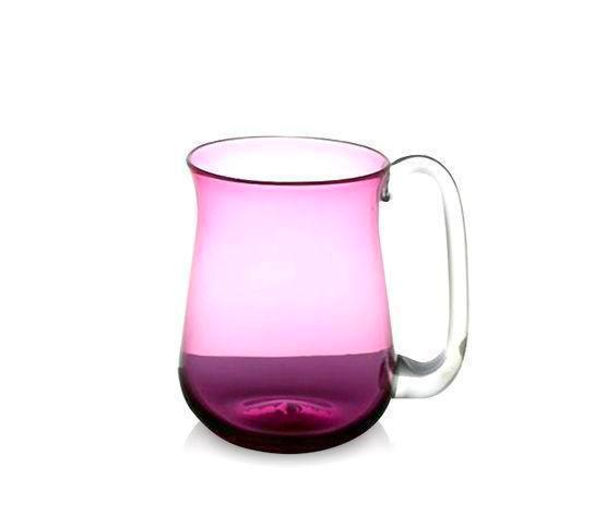 Ruby Glass Beer Mug