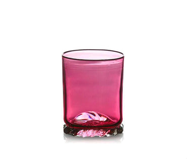 Ruby Red Glass Tumbler