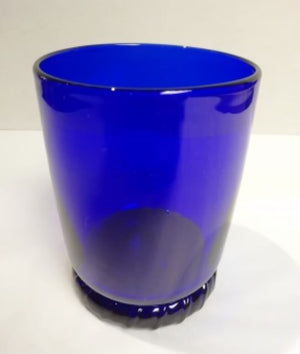 Special Offer 'Second' Blue Glass Tumbler