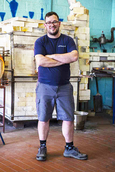 David Barry - Glassmaker at Bristol Blue Glass