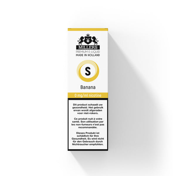 Millers Silver line Banana 10ML