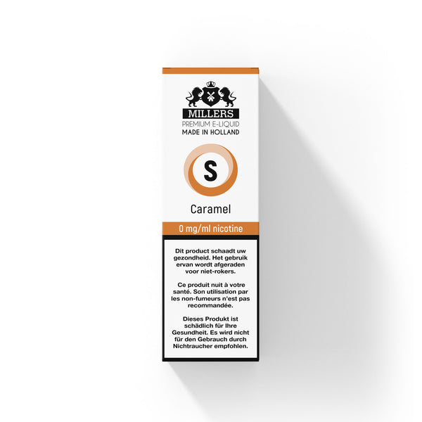 Millers Silver line Caramel 10ML