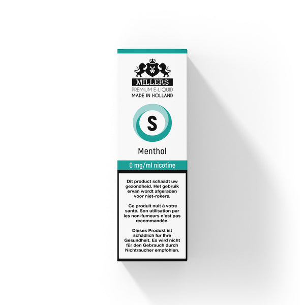 Millers Silver line Menthol 10ML
