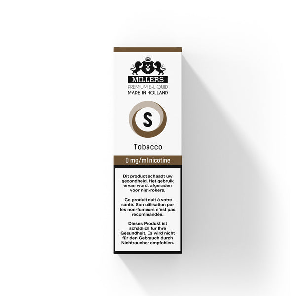 Millers Silver line Tobacco 10ML