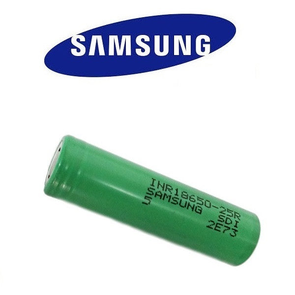 Original Samsung 18650 25r battery (2500mAh)
