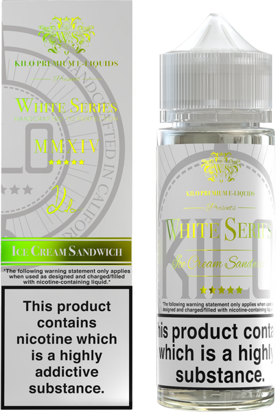 Kilo - White - Ice Cream Sandwich - 100ml