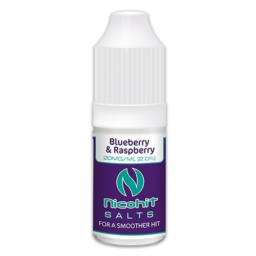 Nicohit Salts - Blueberry & Raspberry - 10ml - 20mg