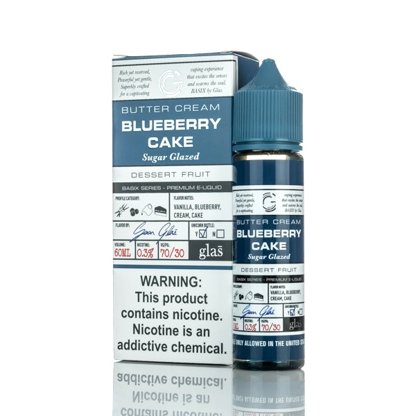 Glas Basix Blueberry Cake 50ML