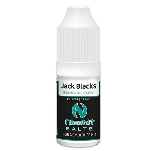 Nicohit Salts - Jack Blacks - 10ml - 20mg