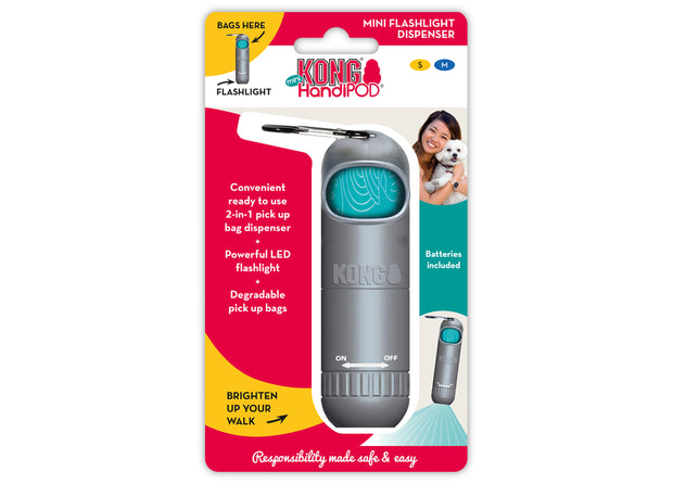 KONG HandiPOD MINI - Flashlight + Dispenser
