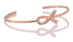 Accented Ribbon Bangle