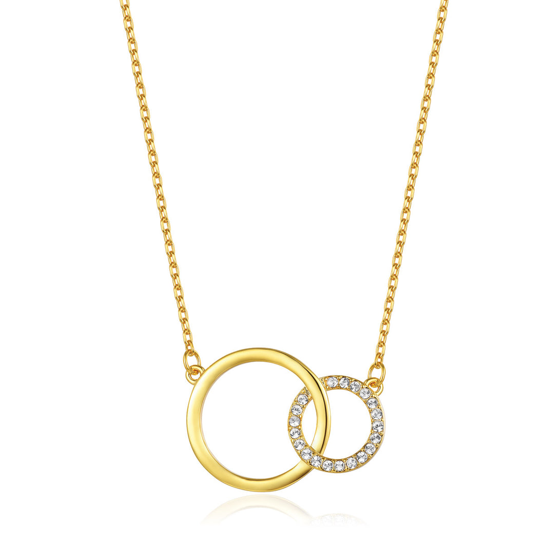 Twined Circles Necklace