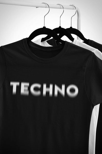 Camiseta unisex Softstyle Techno Visual Effect | Techno Outfit
