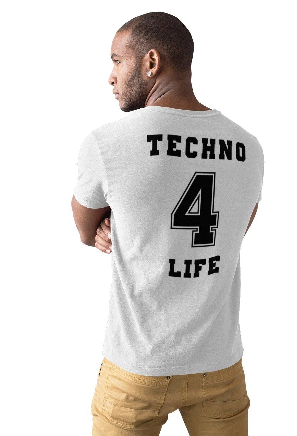Softstyle Unisex T-Shirt Techno 4 Life