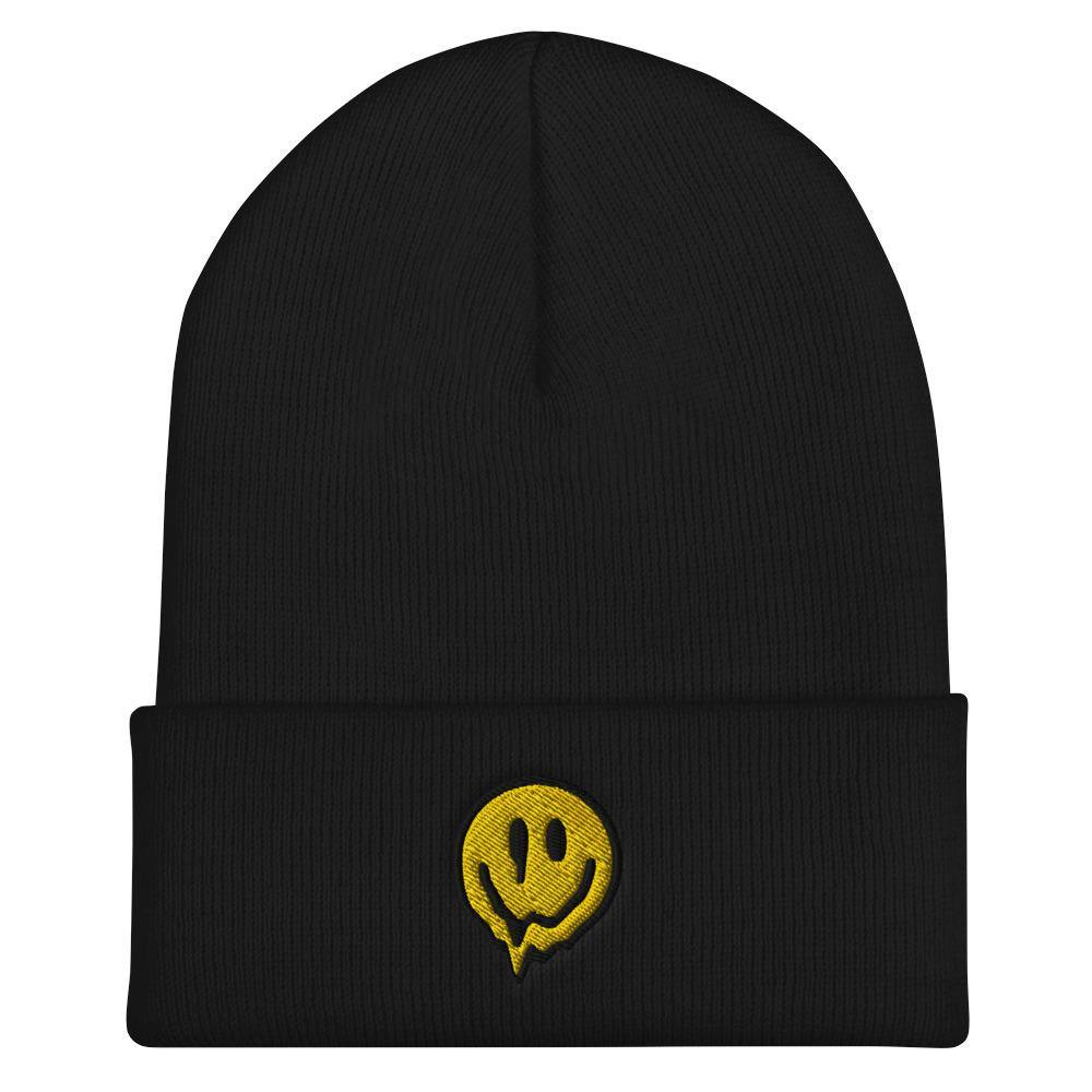 Acid Smiley Beanie | Techno Outfit