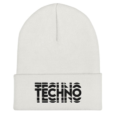 Techno Visual Effect 2 Beanie | Techno Outfit