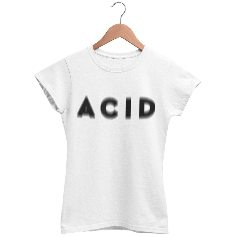 Klassisches Fit T-Shirt Acid Visual Effect | Techno Outfit