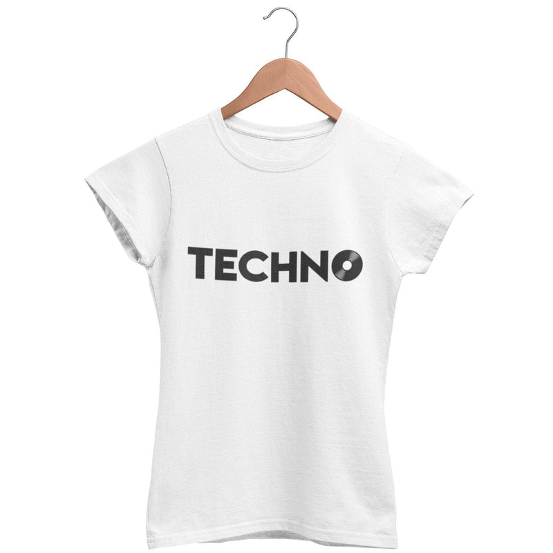 Classic Fit T-Shirt Techno Vinyl | Techno Outfit