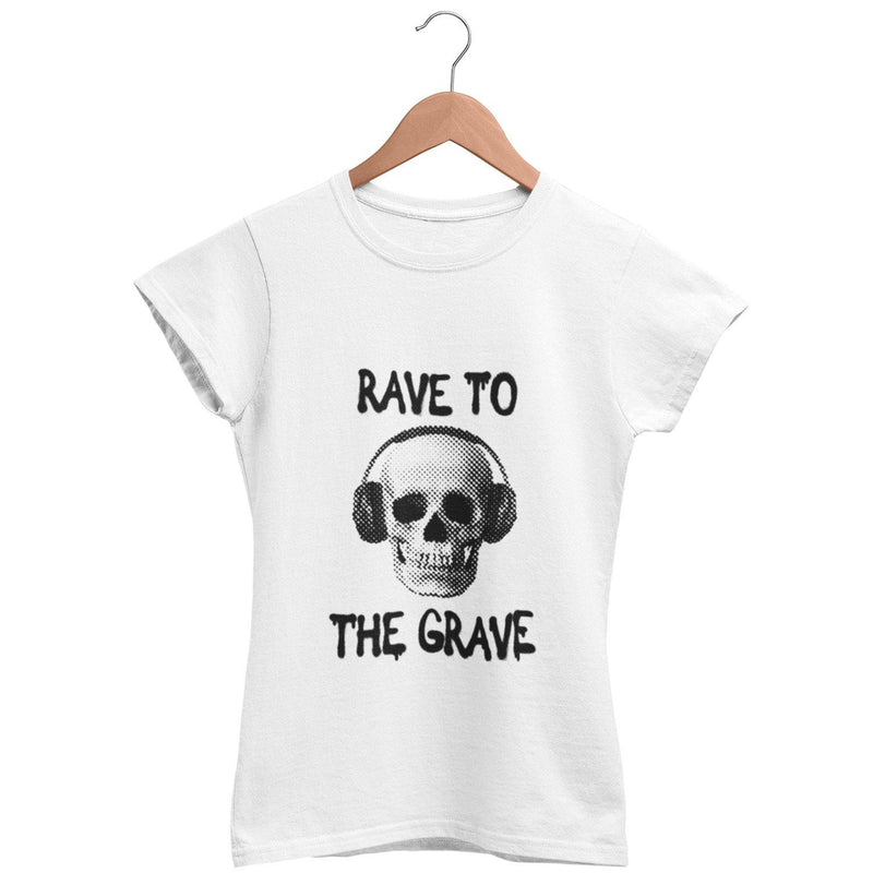 Camiseta de corte clásico Rave To The Grave