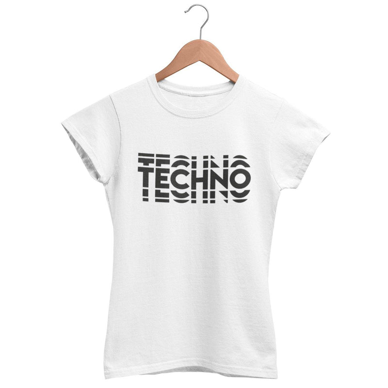 Classic Fit T-Shirt Techno Visual Effect 2