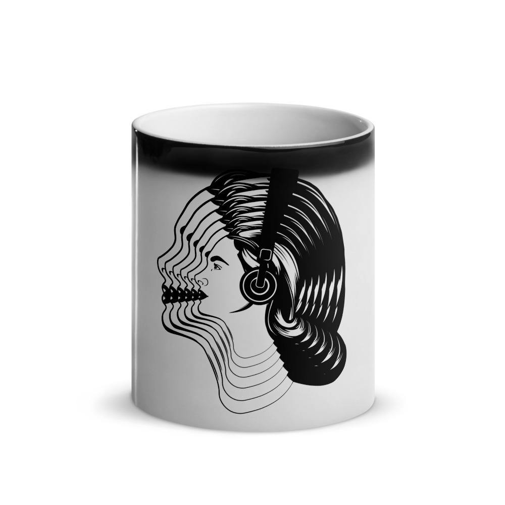Women Visual Effect Magic Mug | Techno Outfit