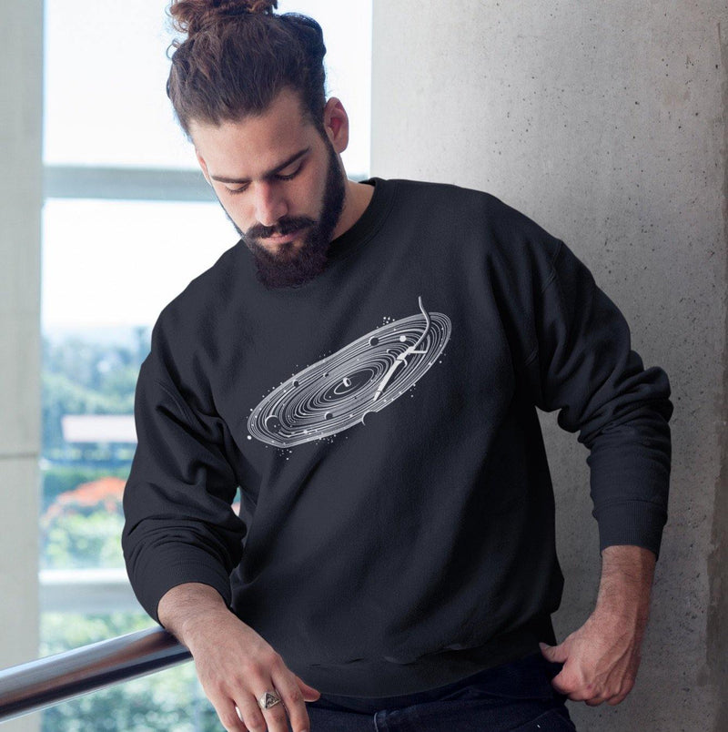 Vinyl Space Sudadera | Techno Outfit