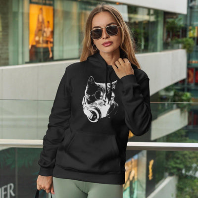 Techno Cat Hoodie | Techno Outfit
