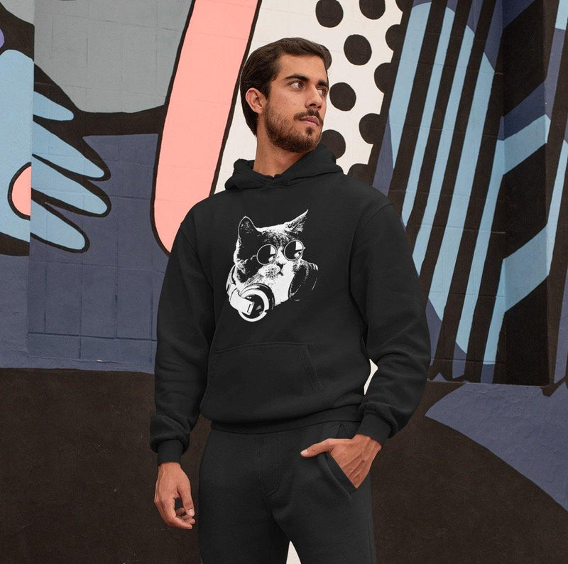 Sudadera Techno Cat | Techno Outfit