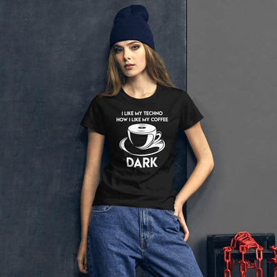 Klassisches Fit T-Shirt Techno Coffee | Techno Outfit