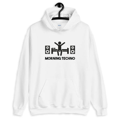 Morning Techno Kapuzenpullover