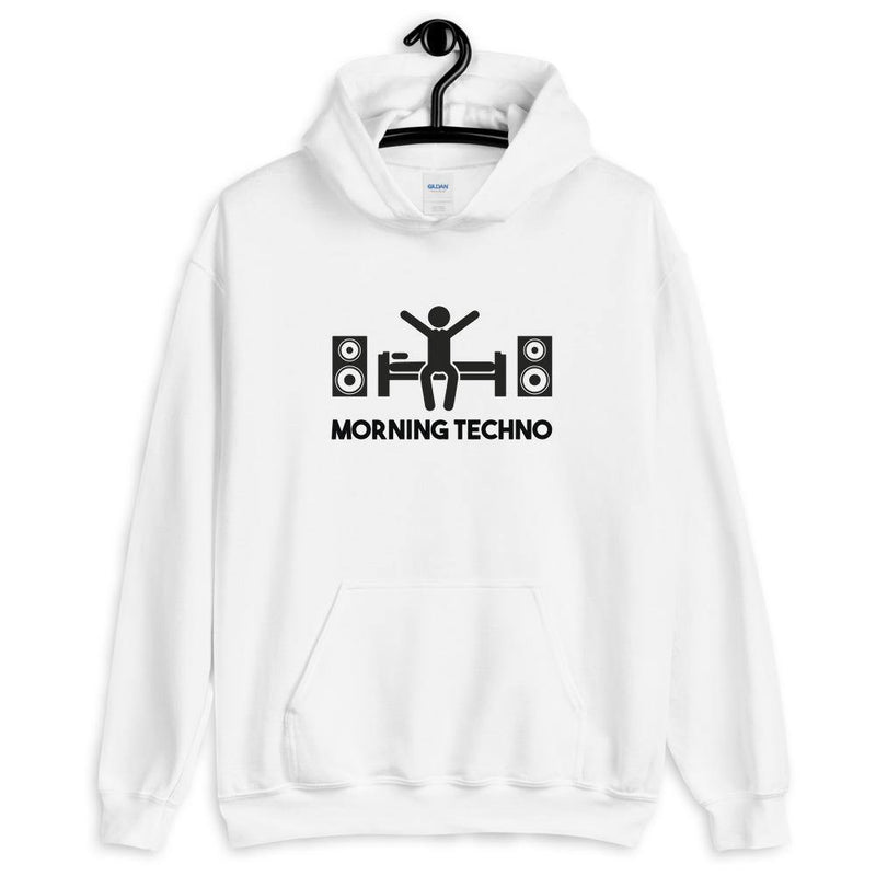Sweat à capuche Morning Techno