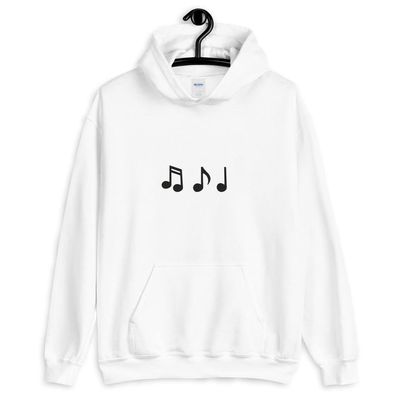 Couple Matching Hoodie Music Notes