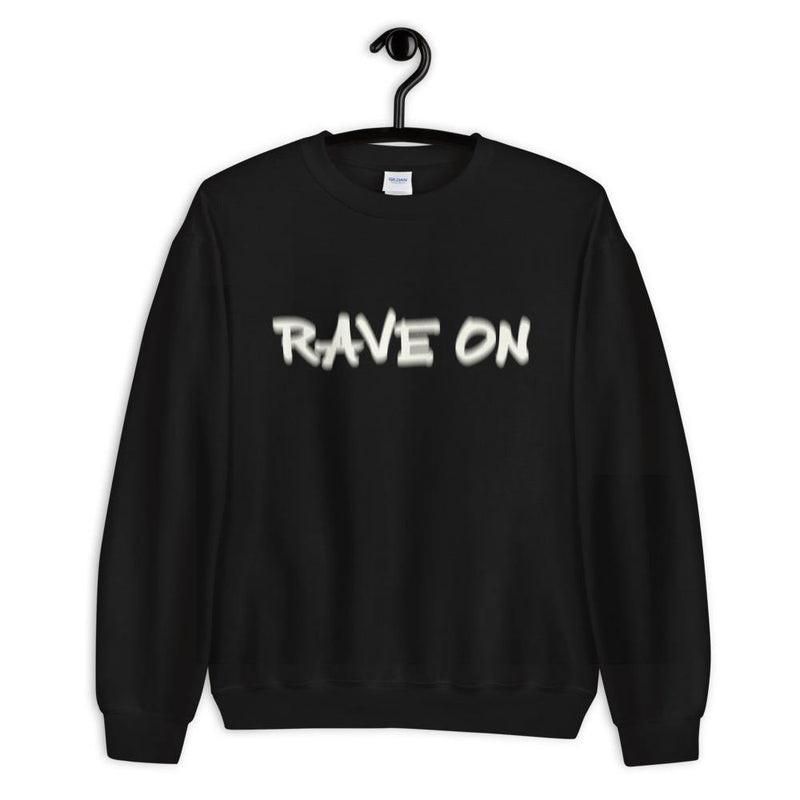 Rave On Visual Effect Sweatshirt | Techno Outfit