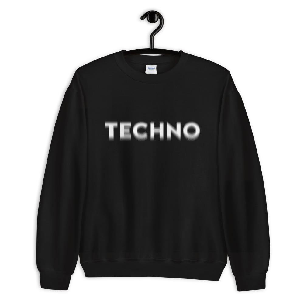 Techno Visual Effect Sweatshirts & Hoodies
