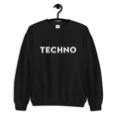Techno Visual Effect Sweatshirt